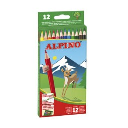12 lápices de color Alpino AL010654