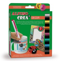 7 rotuladores Crea + Decor Alpino AR000133