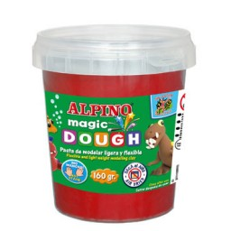 Magic Dough 160 g. roja Alpino DP000146