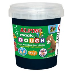 Magic Dough 160 g. negra Alpino DP000150