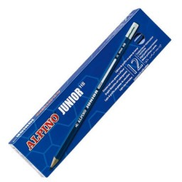12 lápices de grafito Junior Alpino JU015012