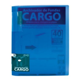 Carpeta Cargo 500 azul Office Box 164-A