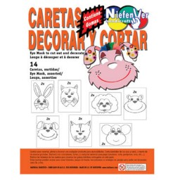 14 caretas animales Niefenver 0700133