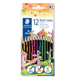12 lápices de color Noris Colour 185 Staedtler 185C12