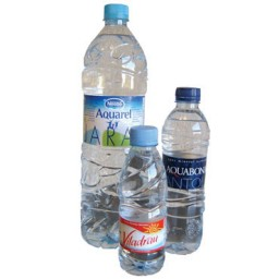Pack 35 botellas agua mineral 33 cl.  AGUA33