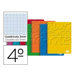 Cuaderno Write 4º c/3mm. Liderpapel 19374