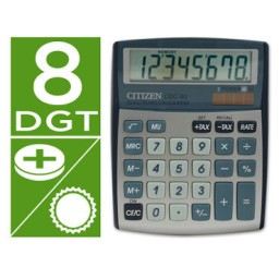 Calculadora CDC-80 plata Citizen 32963