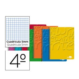 Cuaderno Write 4º c/5mm. Liderpapel 46688
