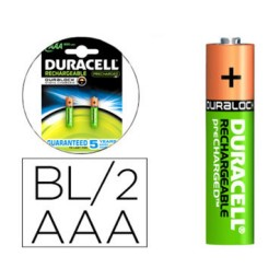 BL2 pilas alcalinas recargables Duracell Stay Charged LR03/AAA 59562