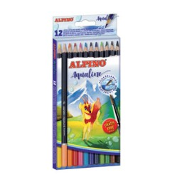 12 lápices de color acuarelables Alpino AL000130