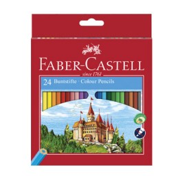 24 lápices de color Castillo Faber Castell 120124