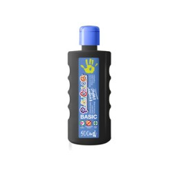 Bote 500 ml. pintura de dedos negra Playcolor 17771