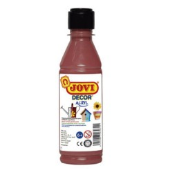 Pintura multisuperficie marrón 250 ml. Jovi 68012
