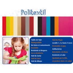 Rollo politextil amarillo 48x0,4 m. Niefenver 1500133AM